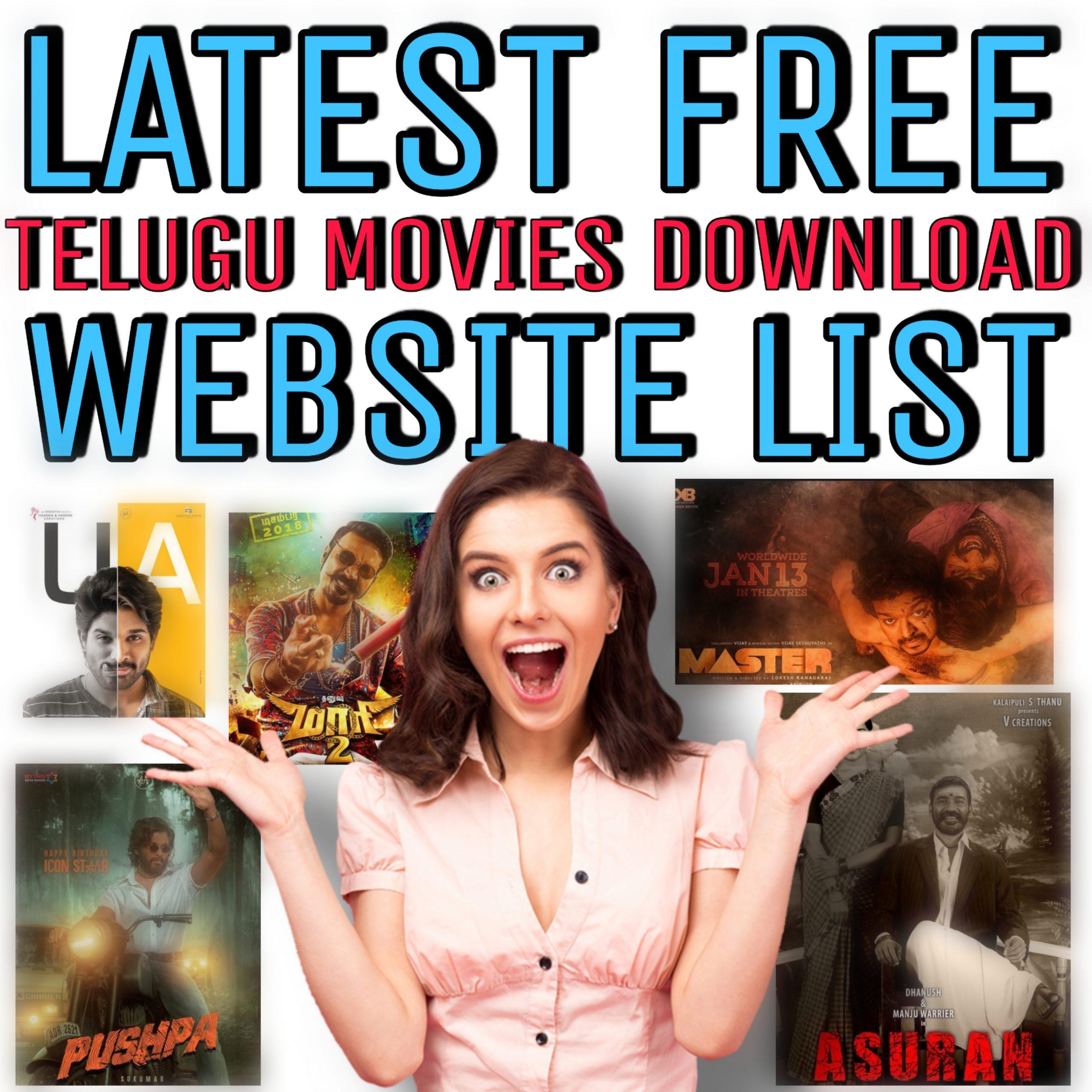 40+ latest Telugu Movie Download Website list