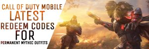 Call of Duty Mobile Redeem Codes for outfits