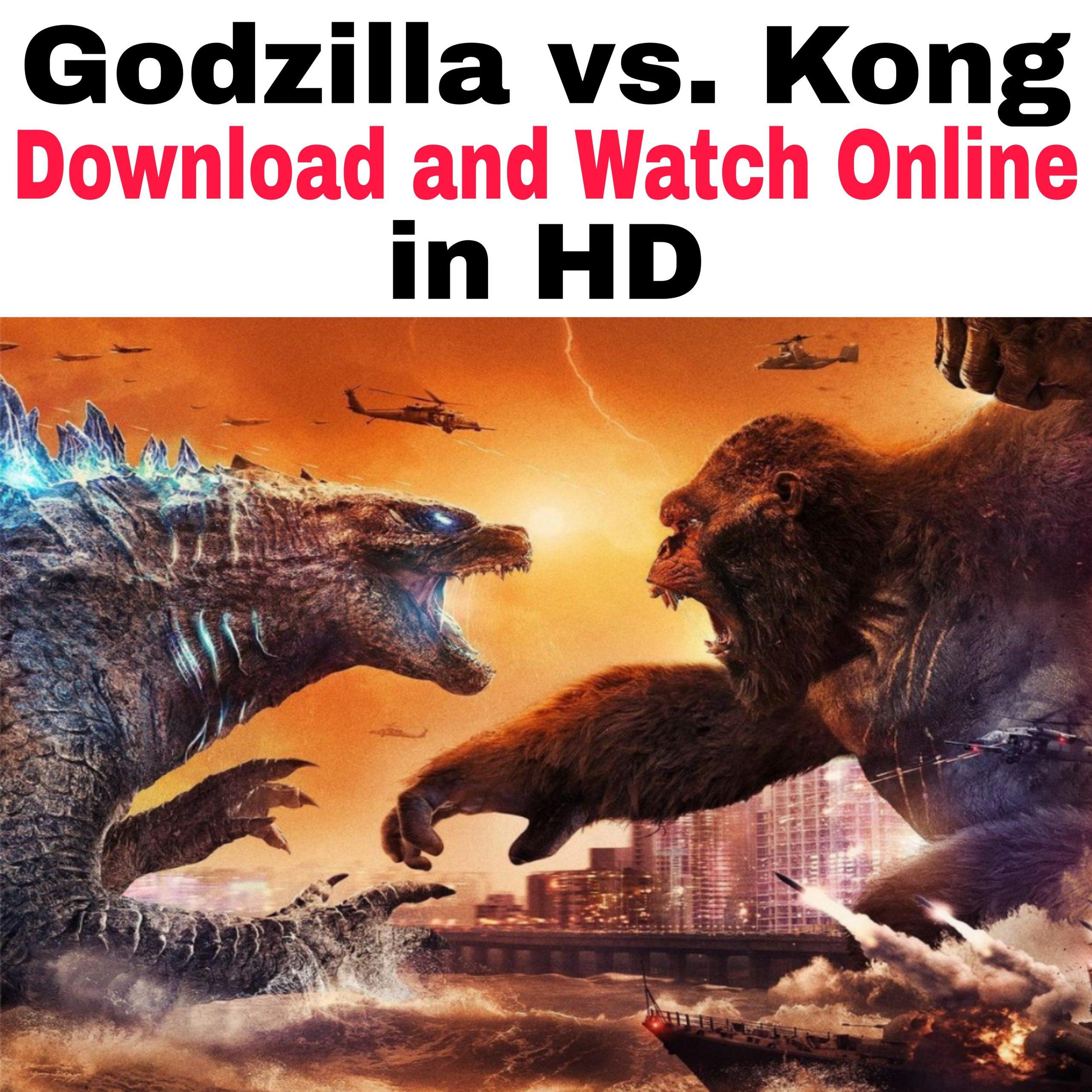Godzilla vs Kong full movie download in isaimini