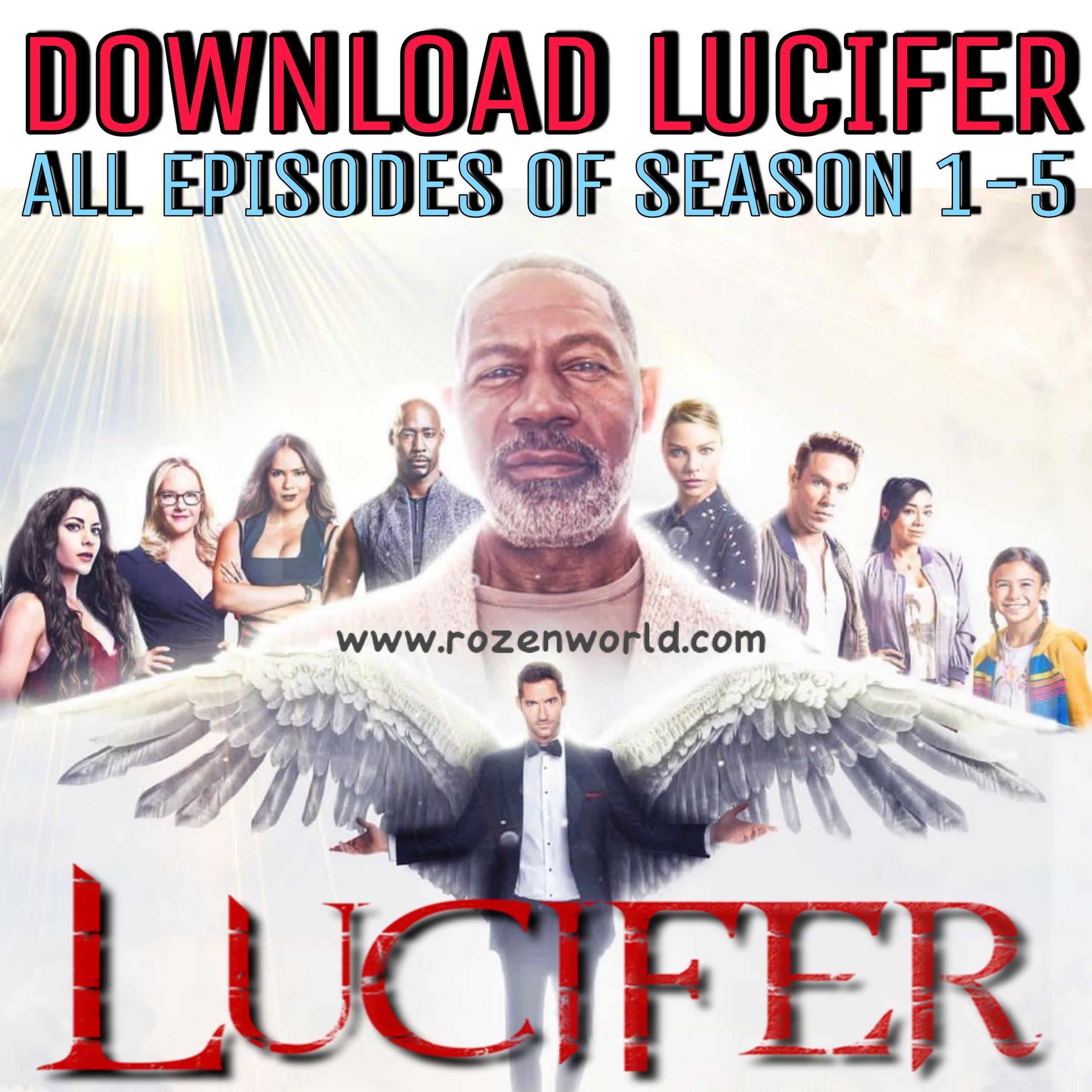 Lucifer Web Series Download Telegram All Episodes of Season 1-5